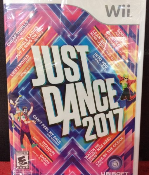 Wii Just Dance 2017 game