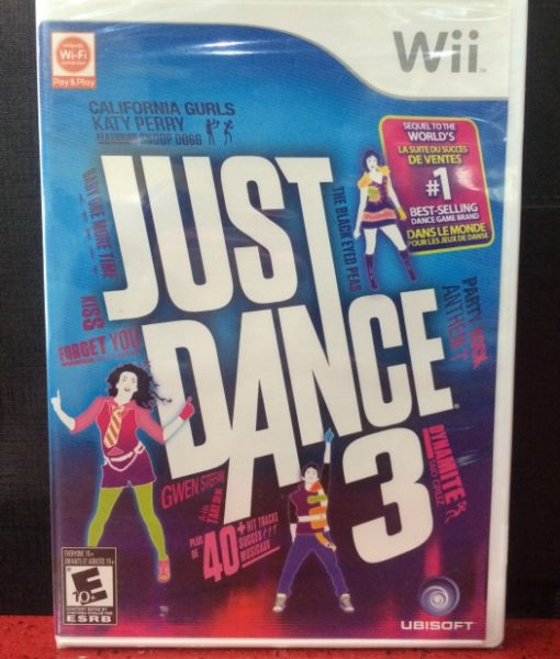Wii Just Dance 3 game