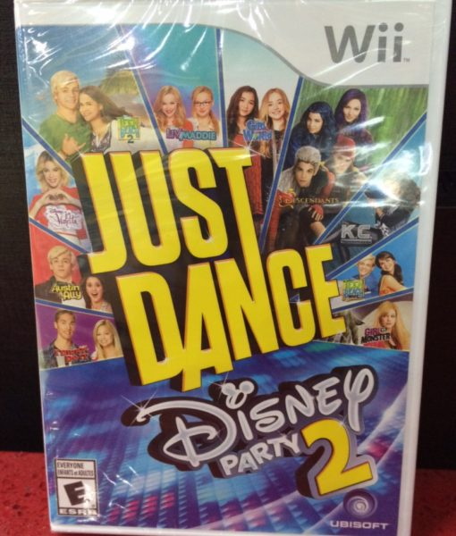 Wii Just Dance Disney Party 2 game