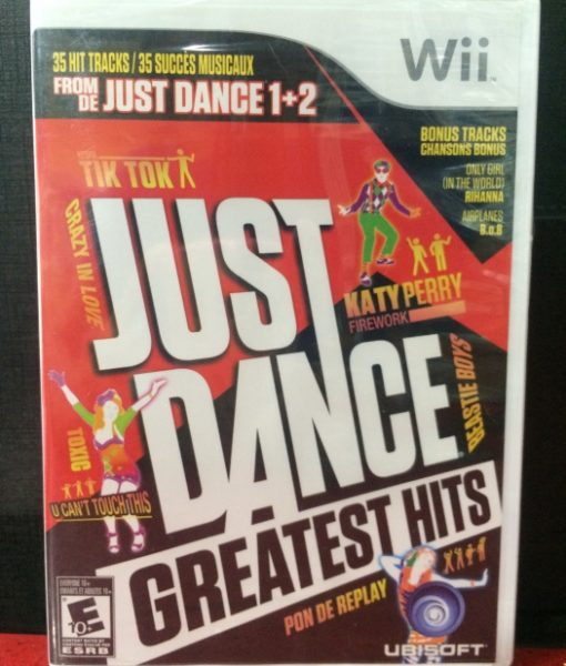 Wii Just Dance Greatest Hits game