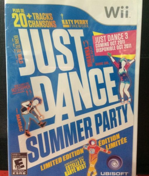 Wii Just Dance Summer Party game