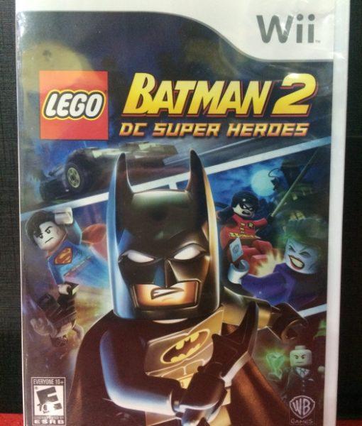 Wii LEGO Batman 2 DC Super Heroes game