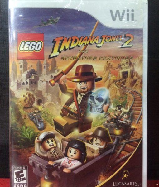 Wii LEGO Indiana Jones 2 game