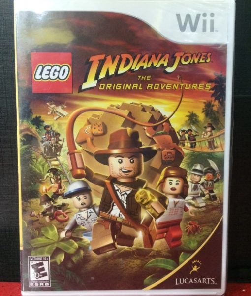 Wii LEGO Indiana Jones game