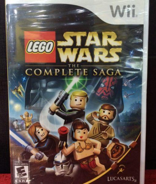 Wii LEGO Star Wars Saga game