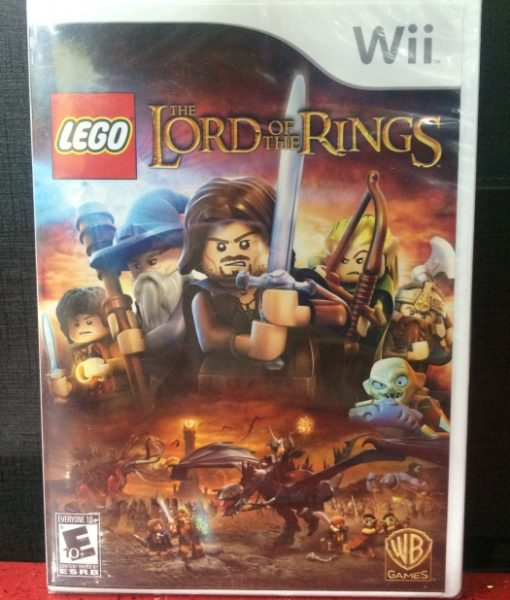 Wii Lego Lords of the Rings game