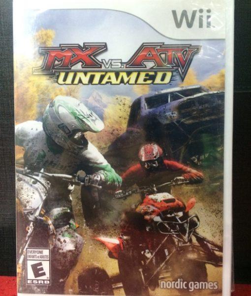 Wii MX vs ATV Untamed game