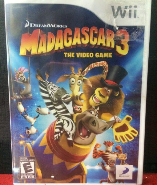 Wii Madagascar 3 game