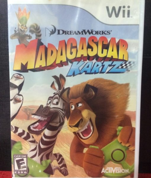 Wii Madagascar Kartz game