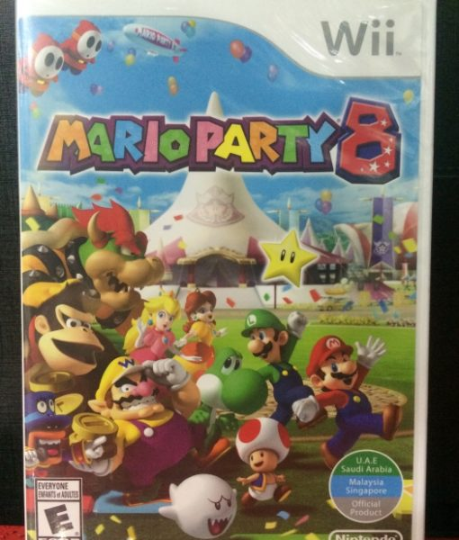 Wii Mario Party 8 game