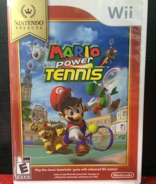 Wii Mario Power Tennis game