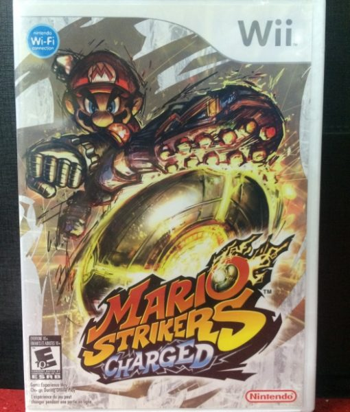 Wii Mario Strikers Charged game
