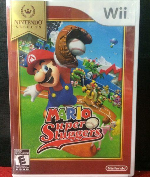 Wii Mario Super Sluggers game