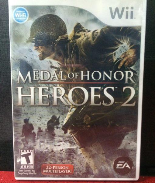 Wii Medal of Honor Heroes 2 game