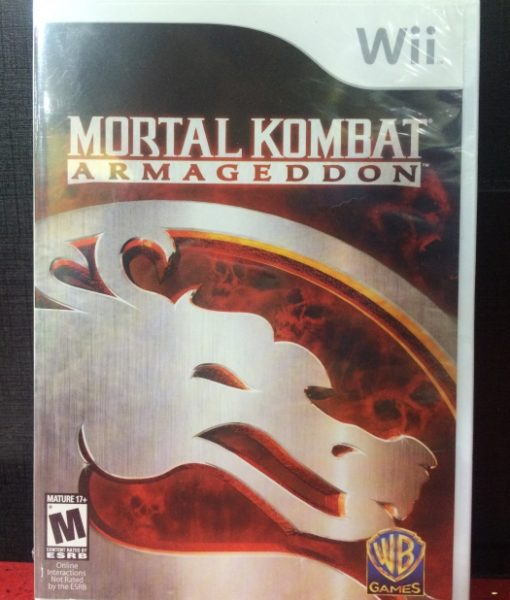Wii Mortal Kombat Armageddon game