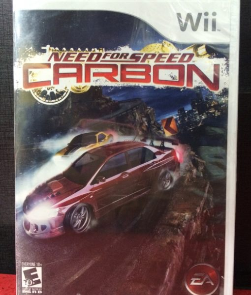 Wii Need for Speed Carbon game