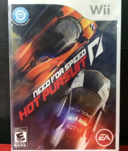 Wii Need for Speed Hot Pursuit game