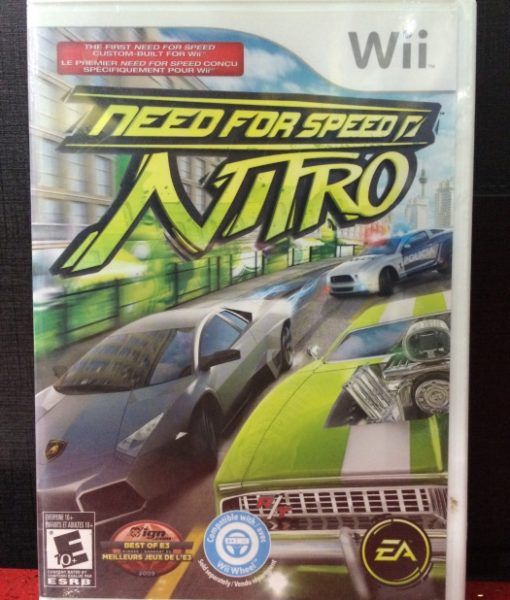 Wii Need for Speed Nitro game