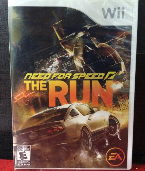 Wii Need for Speed The Run game