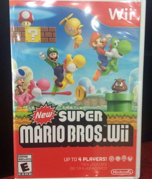 Wii New Super Mario Bros game