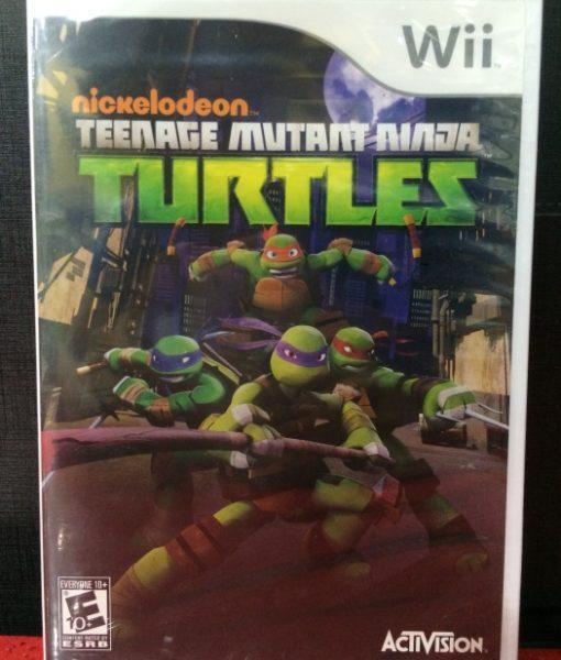 Wii Nickelodeon Turtles game