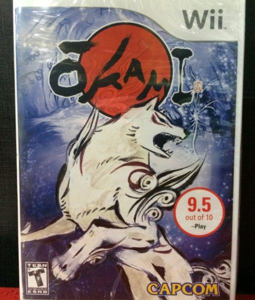 Wii Okami game