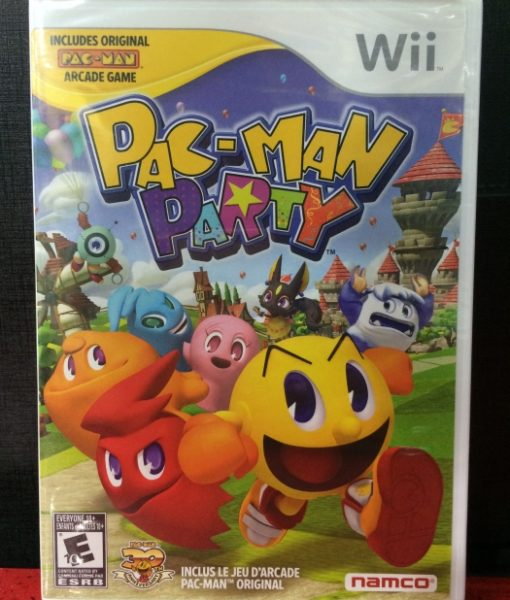 Wii PacMan Party game