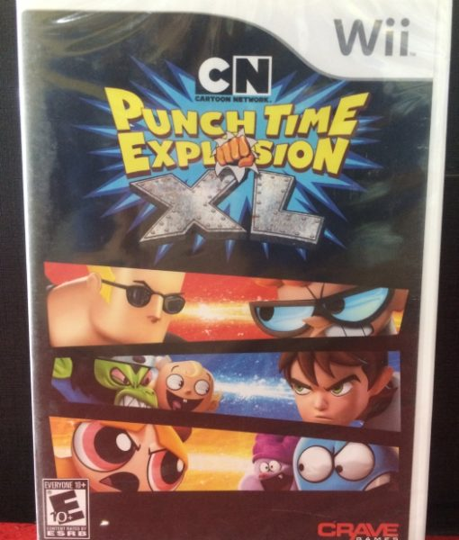 Wii Punch Time Explosion XL game