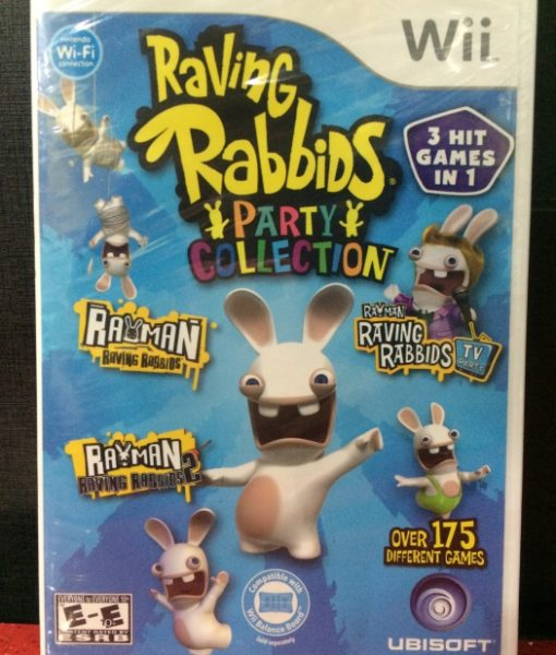 Wii Raving Rabbids Party Collection game