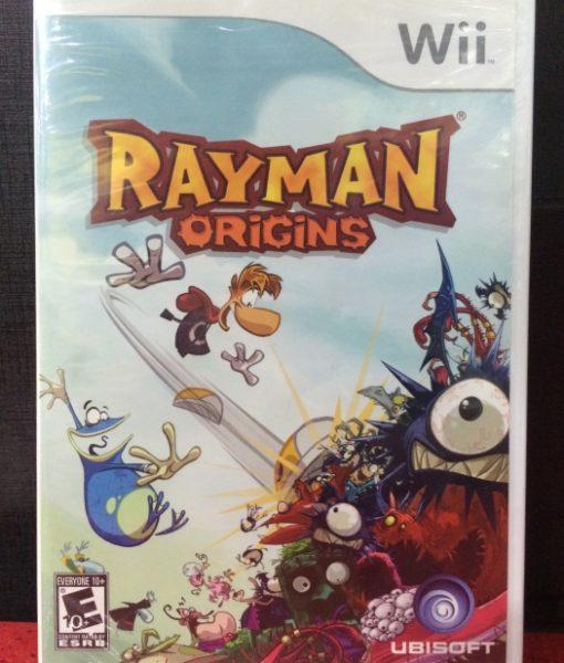 Wii Rayman Origins game