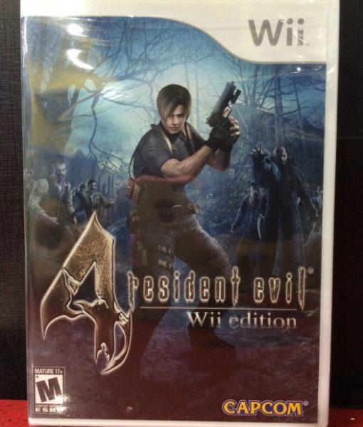 Wii Resident Evil 4 game