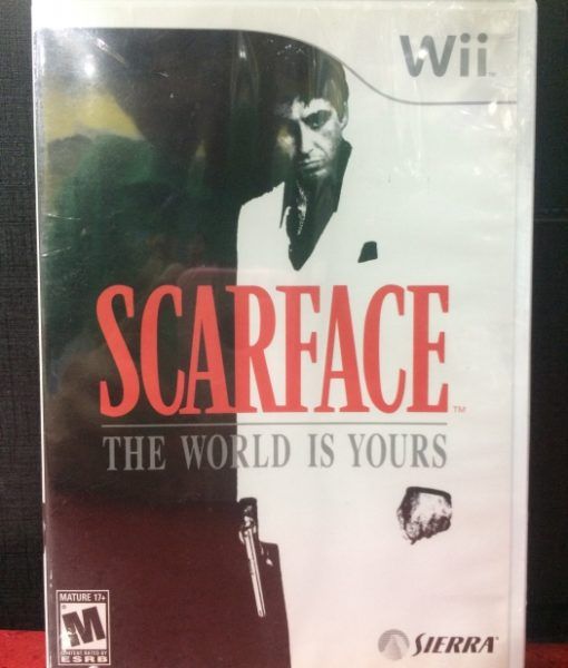 Wii Scarface game