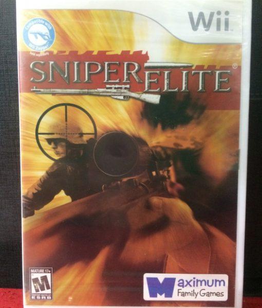 Wii Sniper Elite game