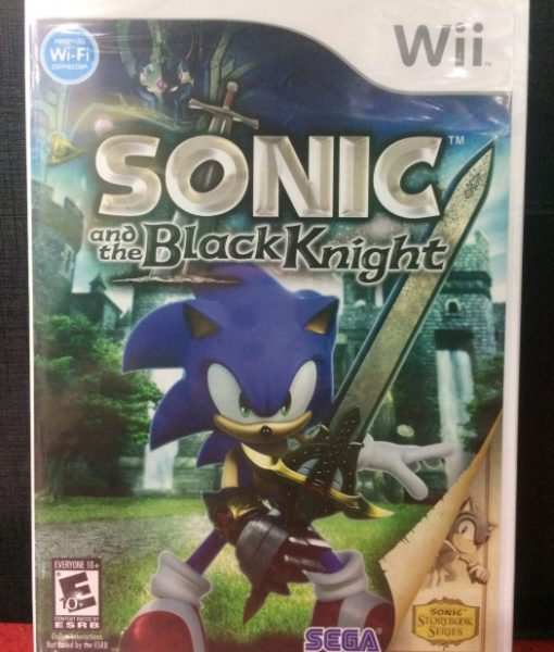 Wii Sonic Black Knight game