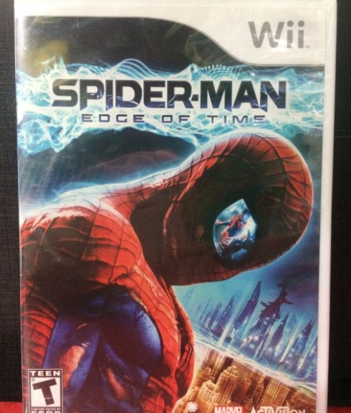 Wii Spiderman Edge of Time game