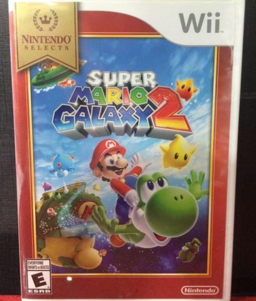 Wii Super Mario Galaxy 2 game