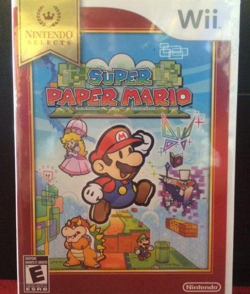 Wii Super Paper Mario game