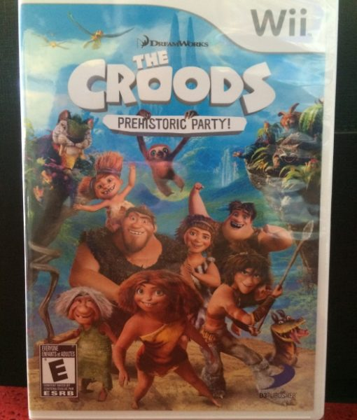 Wii The Croods game