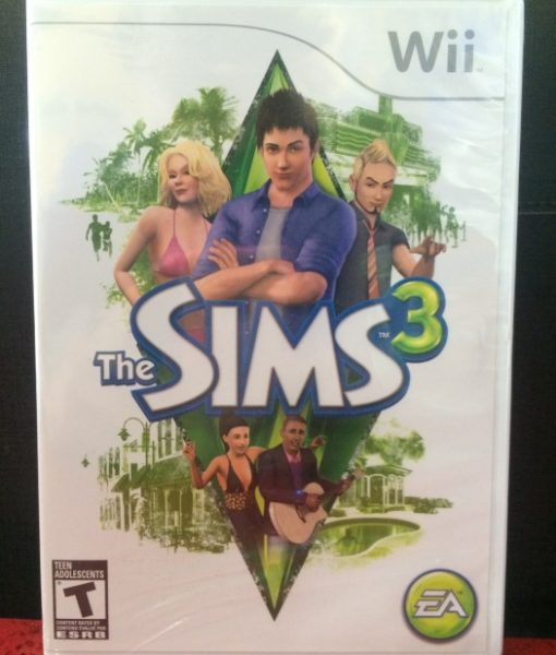 Wii The Sims 3 game