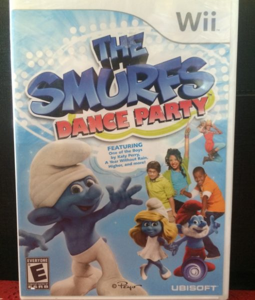 Wii The Smurfs game