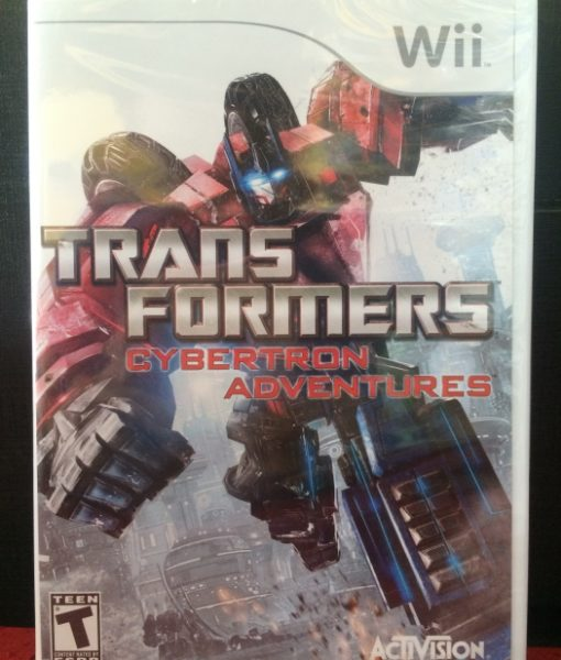 Wii Transformers Cybertron Adventures game