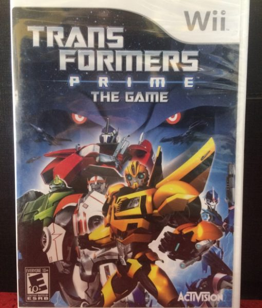 Wii Transformers Prime game