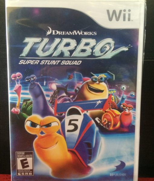Wii Turbo Stunt Squad game