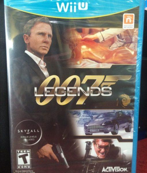 Wii U 007 Legends game
