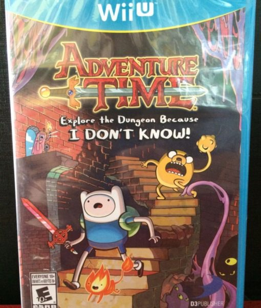 Wii U Adventure Time I Dont Know game