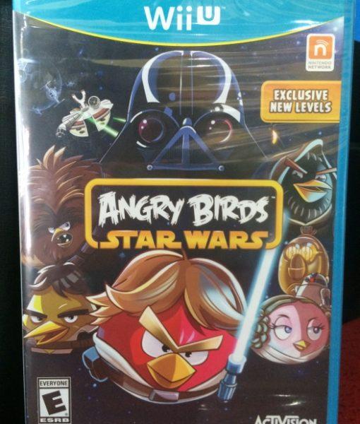Wii U Angry Birds Star Wars game