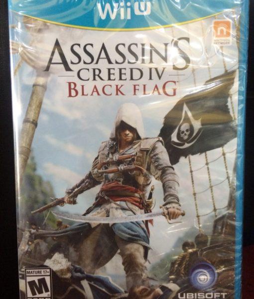 Wii U Assassins Creed IV Black Flag game