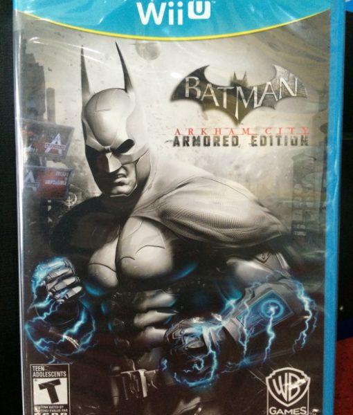 Wii U Batman Arkham City Armored Edition game