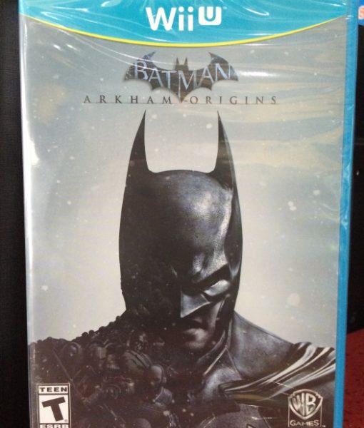 Wii U Batman Arkham Origins game