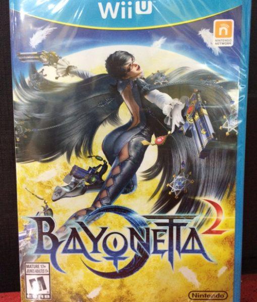 Wii U Bayonetta 2 game